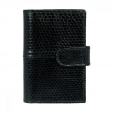Business card holder made from leather snake AN-030