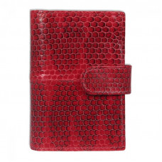Business card holder made of snake skin NA-032