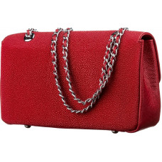 Bag STINGRAY LEATHER 18223 genuine leather Stingray Red