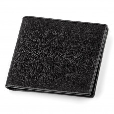 Wallet STINGRAY LEATHER 18001 genuine leather Stingray Black