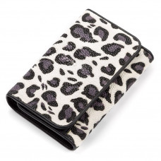 Wallet women STINGRAY LEATHER 18078 genuine leather Stingray multi-Colored