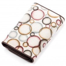 Wallet women STINGRAY LEATHER 18079 genuine leather Stingray multi-Colored