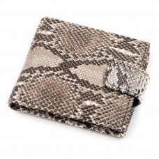 Wallet SNAKE LEATHER 18213 genuine leather Python Grey