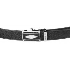 Strap-automatic STINGRAY LEATHER 18003 genuine leather Stingray Black