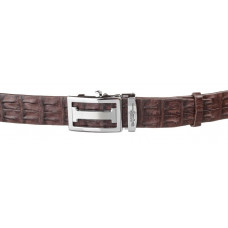 Strap automatic CROCODILE LEATHER 18177 genuine leather crocodile Brown