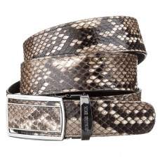 Strap-machine SNAKE LEATHER 18201 genuine Python skin Multicolor