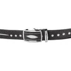 Strap-automatic STINGRAY LEATHER 18202 genuine leather Stingray Black