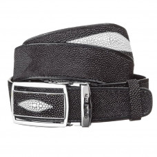 Strap-automatic STINGRAY LEATHER 18203 genuine leather Stingray Black