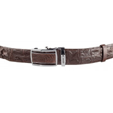 Strap automatic CROCODILE LEATHER 18240 genuine leather crocodile Brown