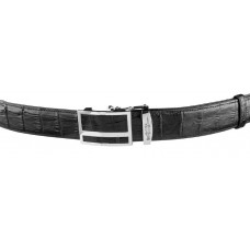 Strap automatic CROCODILE LEATHER 18247 genuine leather crocodile Black