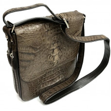 Bag men crocodile (MZCM 20 H Brown)