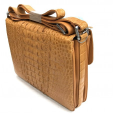 Bag men crocodile (MZCM 30 Tan)