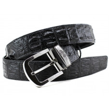 The strap of crocodile leather (105-15 Black)