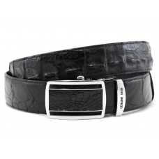 The strap of crocodile leather (NWBC-105 black)