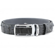 The strap of crocodile leather (NCR105 grey)