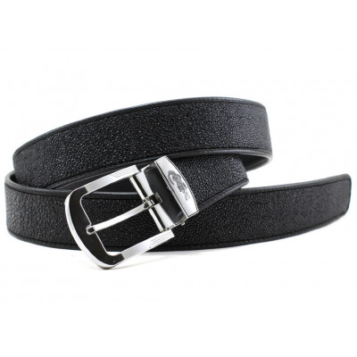 Men's belt Stingray leather 105STB Black