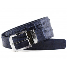 The strap of crocodile leather (NCR-105-2 blue)