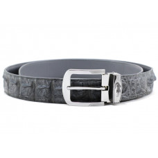 The strap of crocodile leather (NCR-105-2 grey)