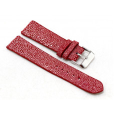 Watch band Stingray leather (ST-313 Red)