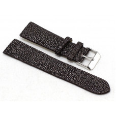 Watch band Stingray leather (ST-414 Grey)