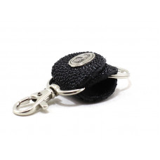Keychain made of genuine leather Stingray (STB-180, black)