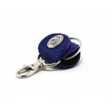 Keychain made of genuine leather Stingray (STB-180 blue)