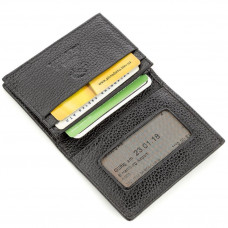 Credit card 18646 STINGRAY LEATHER genuine Stingray leather