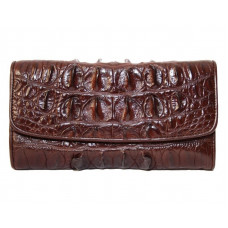 Wallet female crocodile (N1026T-03 Brown)
