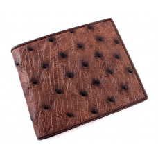 Wallets mens ostrich leather NOS 348