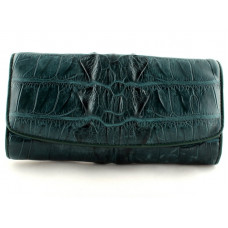 Purse women's crocodile (NPCM 03 BT Green)