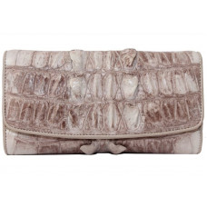 Wallet crocodile leather (PCM03TNatural)