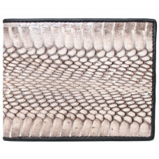 The wallet is made of Python skin (CB348Natural)