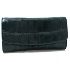 Purse women's crocodile (NPCM 03 B Green)