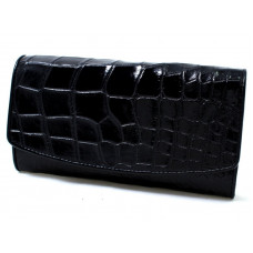 Purse women's crocodile (NPCM 03 B Black)