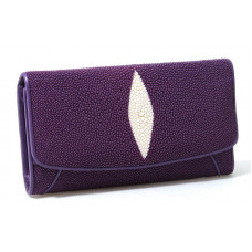 Wallet women Stingray leather (NST52 pur)