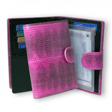 Cover for documents of snake skin AN-048