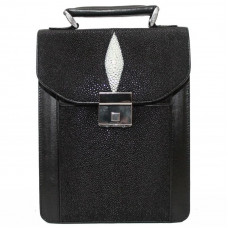 Bag Stingray leather (STCM 24 Black) (under the order of 10-12 days)