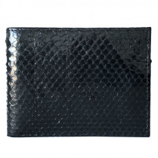 Purse made from Python (PT 60 Black)